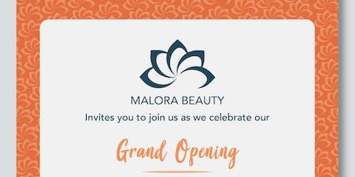 Malora Beauty Grand Opening