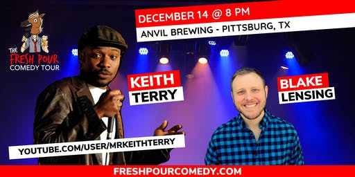 The Fresh Pour Comedy Tour at Anvil Brewing