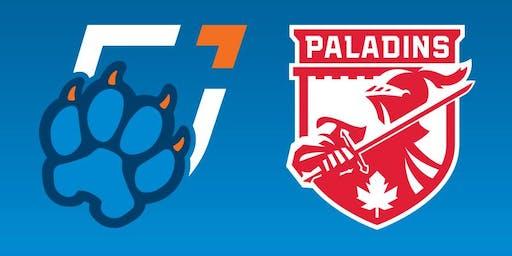 Ontario Tech Men's Hockey vs. RMC Paladins