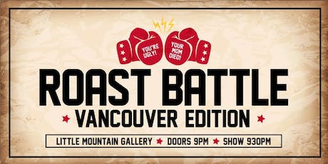 Roast Battle Vancouver: The September Edition! tickets
