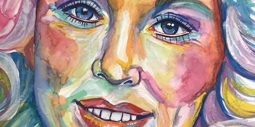 Rad Women Portrait Painting Workshop Series w/ Rebecca Holopter