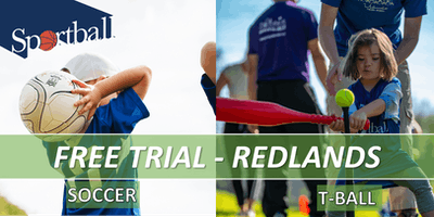 FREE TRIAL - Sportball Soccer & T-Ball/Baseball -