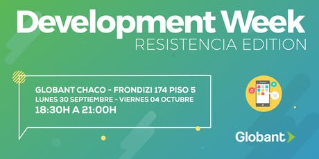 Development Week Resistencia entradas