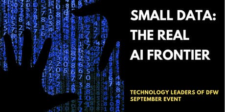 Small Data: The Real AI Frontier tickets