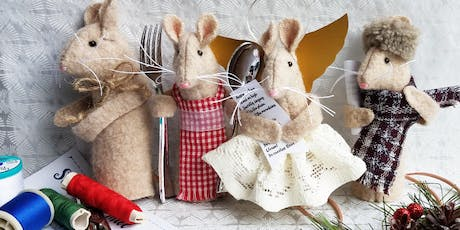 Toymaking: Little Winter Mice workshop at Ragfinery tickets