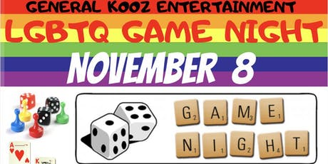 LGBT GAME NIGHT  tickets