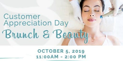 Customer Appreciation Day Brunch and Beauty