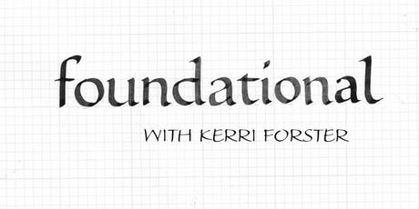 Foundational Calligraphy: A Great Place To Start tickets