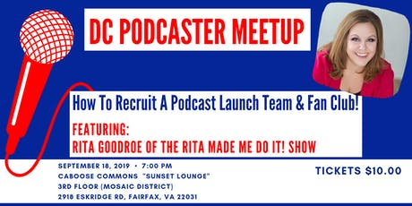 DC Podcaster Meetup tickets