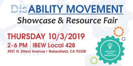 DisABILITY MOVEMENT Showcase & Resource Fair tickets