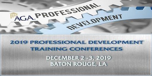 2019 Fall AGA Baton Rouge Professional Development Conference