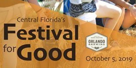 Central Florida's Festival for Good tickets