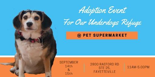 UnderDog Adoption Event