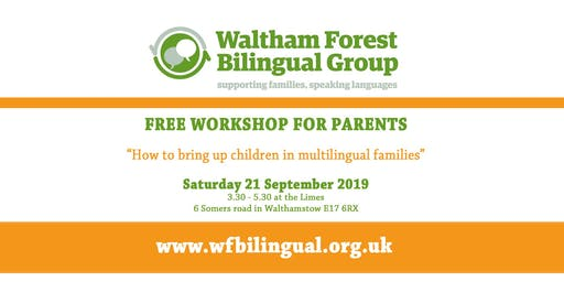 How to bring up children in multilingual families - Drop-in and Workshop