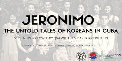 JERONIMO [Private Screening in Atlanta]