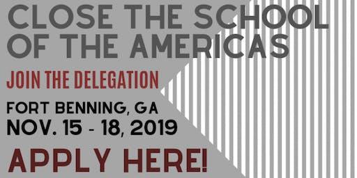 SOAW Vigil 2019 - STOP militarism, detention and incarceration!
