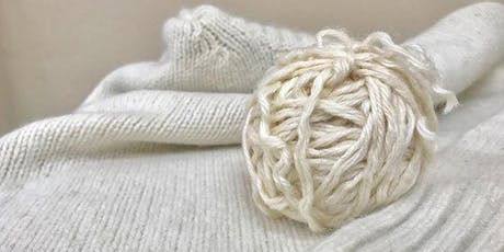 Reclaiming Yarn From Sweaters workshop at Ragfinery tickets
