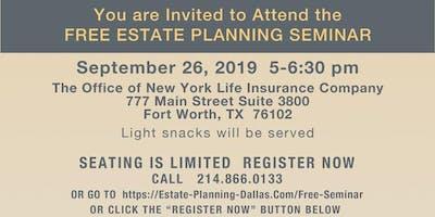 FREE Estate Planning Seminar