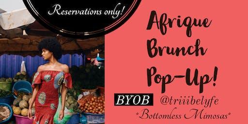 Afrique Brunch POP UP