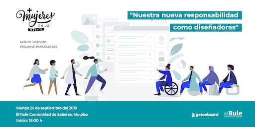 +Mujeres en UX México Meetup Septiembre 2019