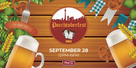 Porchtoberfest x Mill St. Brewery tickets