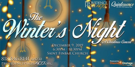 The Winter's Night: A Providence High Arts Christmas Concert tickets