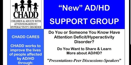 New ADHD CHADD Support Group Forming in Germantown tickets