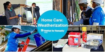Habitat Chicago's Home Care Workshop: Weatherization (12/14/2019)