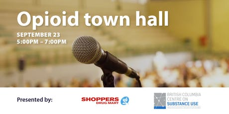 Opioid town hall tickets
