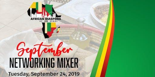 African Diaspora of Las Vegas - SEPTEMBER Mixer