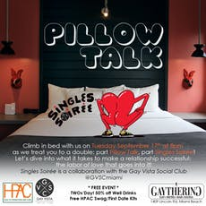 A Pillow Talk Singles Soirée tickets