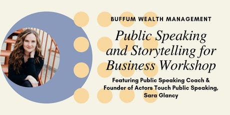 Storytelling for Business - A Free Public Speaking Workshop tickets