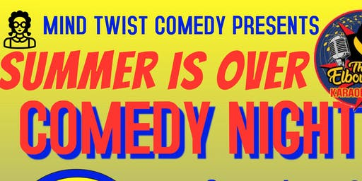 Summer is Over Comedy Night
