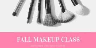 Fall Makeup Class