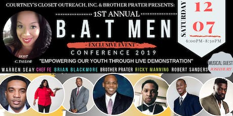 "B.A.T Men Conference 2019 ""Empowering Our Youth Through Live Demonstration"" tickets"