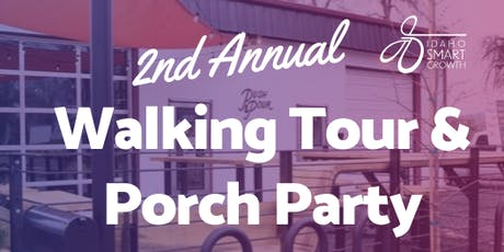 Walking Tour & Porch Party tickets