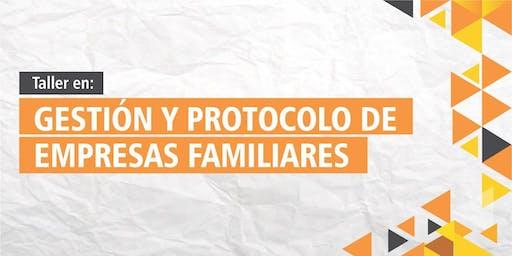 Taller en Gestión y Protocolo de Empresas Familiares