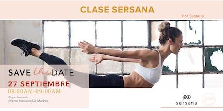 CLASE SERSANA tickets