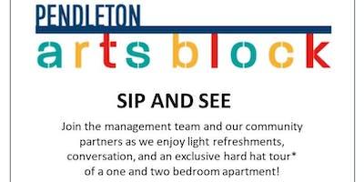 Pendleton ArtsBlock Sip And See