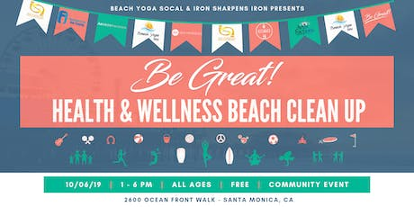 Be Great! Health & Wellness Beach Clean Up tickets