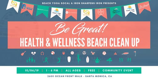 Be Great! Health & Wellness Beach Clean Up