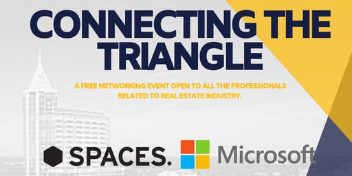 Connecting the Triangle - a FREE networking event.