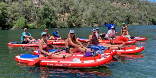 Stand Up Paddle Yoga Adventure Lake Clementine