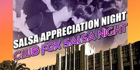 SALSA SPOT - Salsa Appreciation Night tickets