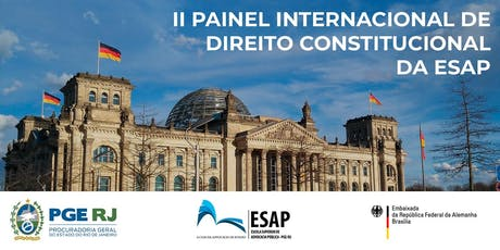 II PAINEL INTERNACIONAL DE DIREITO CONSTITUCIONAL DA ESAP ingressos