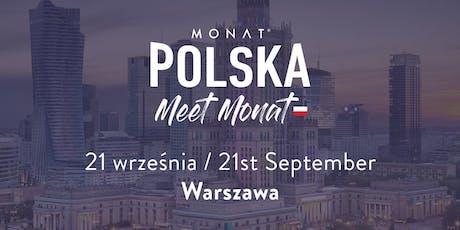 Meet MONAT Warsaw tickets