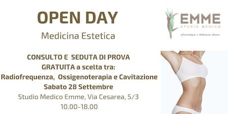 Medicina Estetica non invasiva: Open Day gratuito allo Studio Medico Emme biglietti