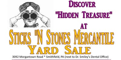 Sticks 'N Stones Mercantile Yard Sale
