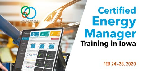 5-Day Comprehensive Certified Energy Manager (CEM) Training tickets