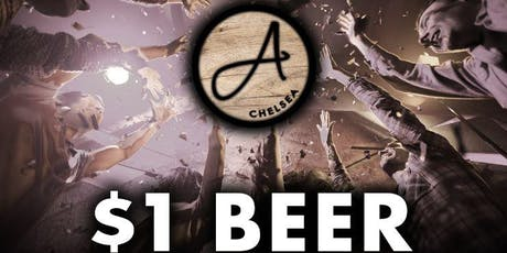 $1 Beer Wednesday's at The Ainsworth Chelsea  tickets